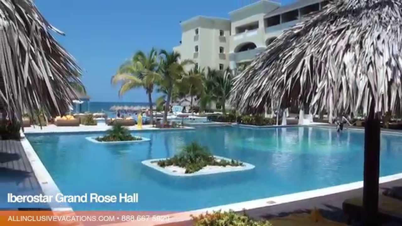 Inside The Iberostar Grand Rose Hall In Montego Bay Jamaica All - Iberostar grand montego bay