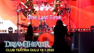 Dream Theater - One Last Time [TEATRIA 18-01-2020]