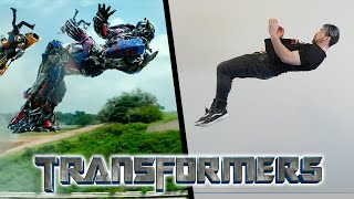 Stunts From Transformers In Real Life (Parkour)