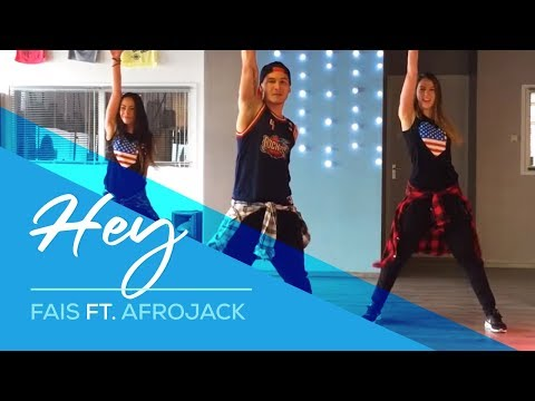 Hey - Fais ft. Afrojack - Easy Fitness Dance Choreography