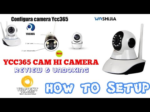 YCC365 WIFI IP CAMERA UNBOXING AND SETUP VIDEO