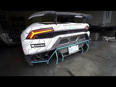 What a $44,000 Supercharger w/ Exhaust Sounds Like : Lamborghini Huracan LP800-2