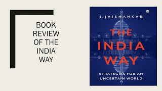Book Review of The India Way by S Jaishankar