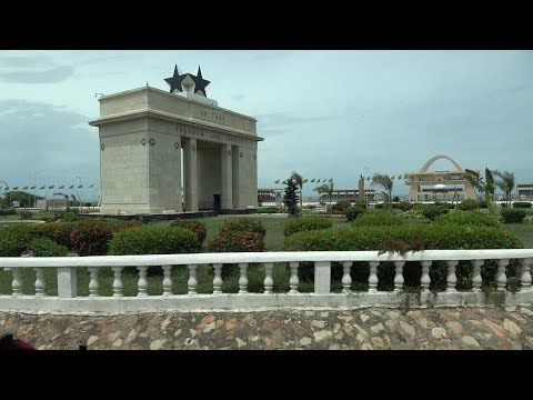 Black Star Square in Ghana Dedicated to Marcus Garvey the Pan African Visionary