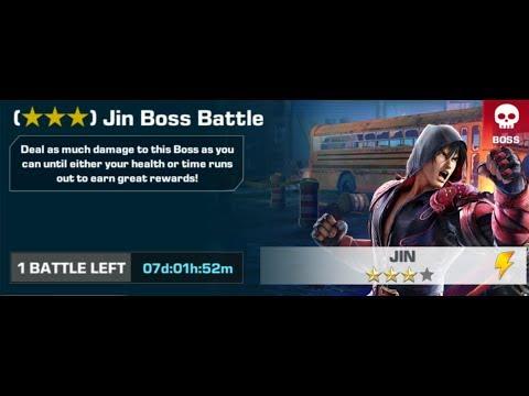 Tekken Mobile - Jin 3 Star BOSS Battle
