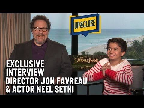 THE JUNGLE BOOK exclusive interview with Director Jon Favreau and actor Neel Sethi