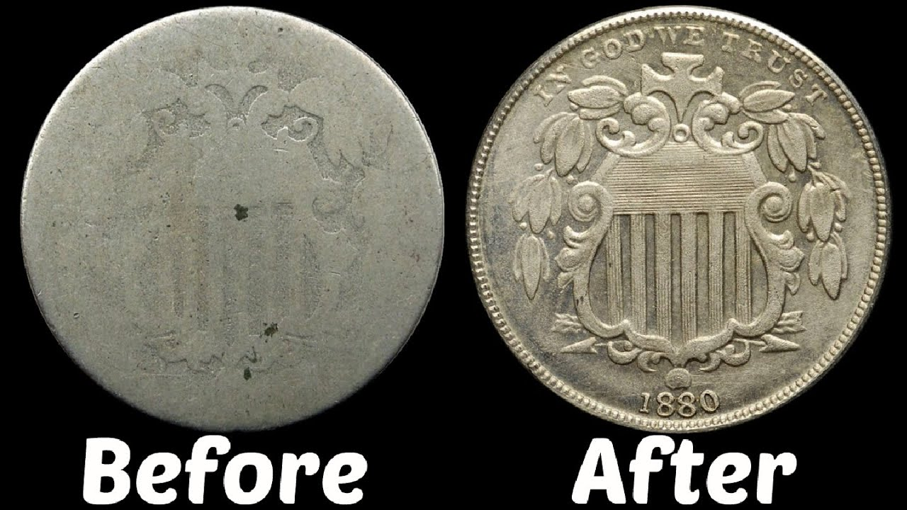 how to restore an old coin