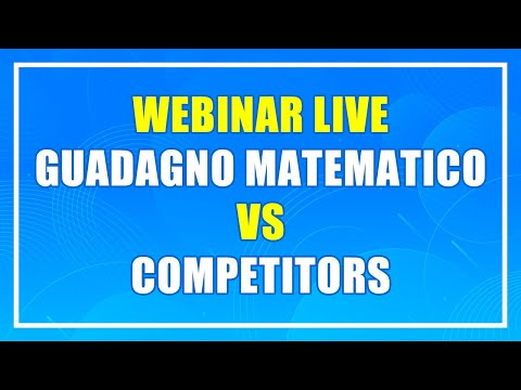 Matched Betting e Surebets  - Guadagno Matematico Vs Competitors