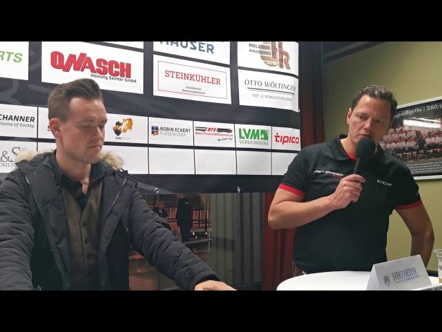 Pressekonferenz FASS Berlin Vs Schönheider Wölfe