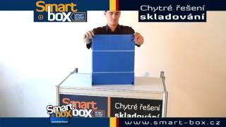 Smart plastic flap box 1