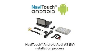 Android Auto With Touch Screen For Audi A3 8v Series Factory 3g