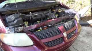 How To: Replace the Radiator in a Dodge Caravan