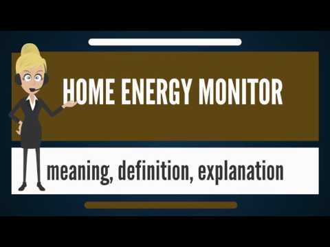 What is HOME ENERGY MONITOR? What does HOME ENERGY MONITOR mean? HOME ENERGY MONITOR meaning