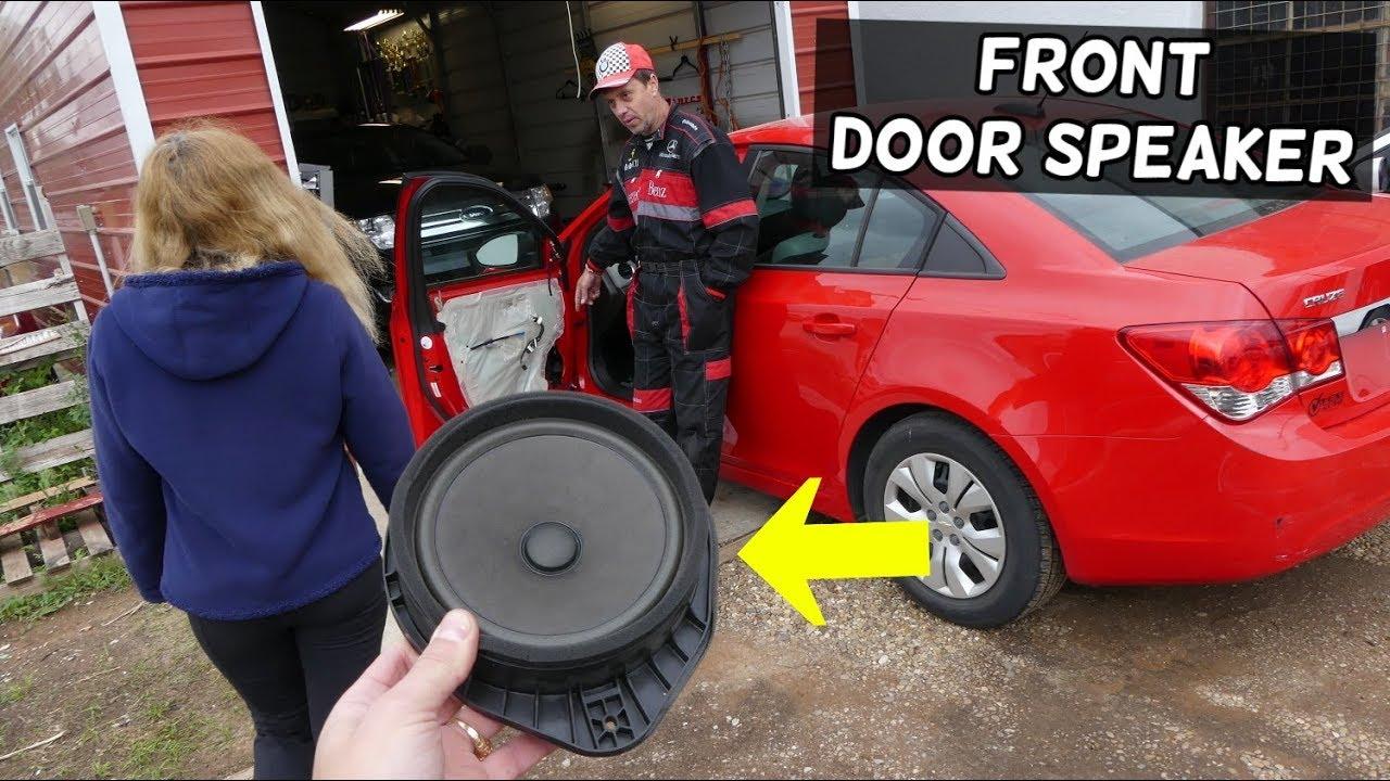 Chevrolet Cruze Front Door Speaker Replacement Removal Radio Speaker Not Working Chevy Cruze Youtube