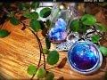 レジン 瑠璃色の宝物 型を使わずに簡単に作れる水晶