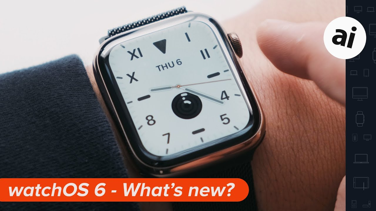 What's new in watchOS 6 - Beta 1 - YouTube