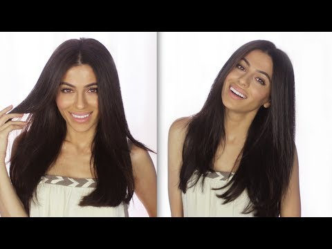 How to cut your clip in extensions how to hairstyles hair how to cut your clip in extensions how to hairstyles hair tutorials teni panosian youtube pmusecretfo Choice Image