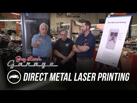 Direct Metal Laser Printing – Jay Leno's Garage