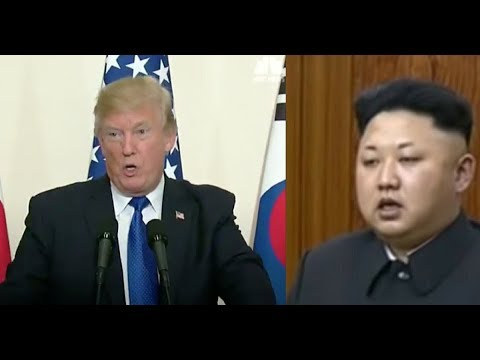 TRUMP STEPS TO PODIUM IN SOUTH KOREA, STUNS ENTIRE WORLD WITH WHAT HE SAYS TO KIM JONG UN