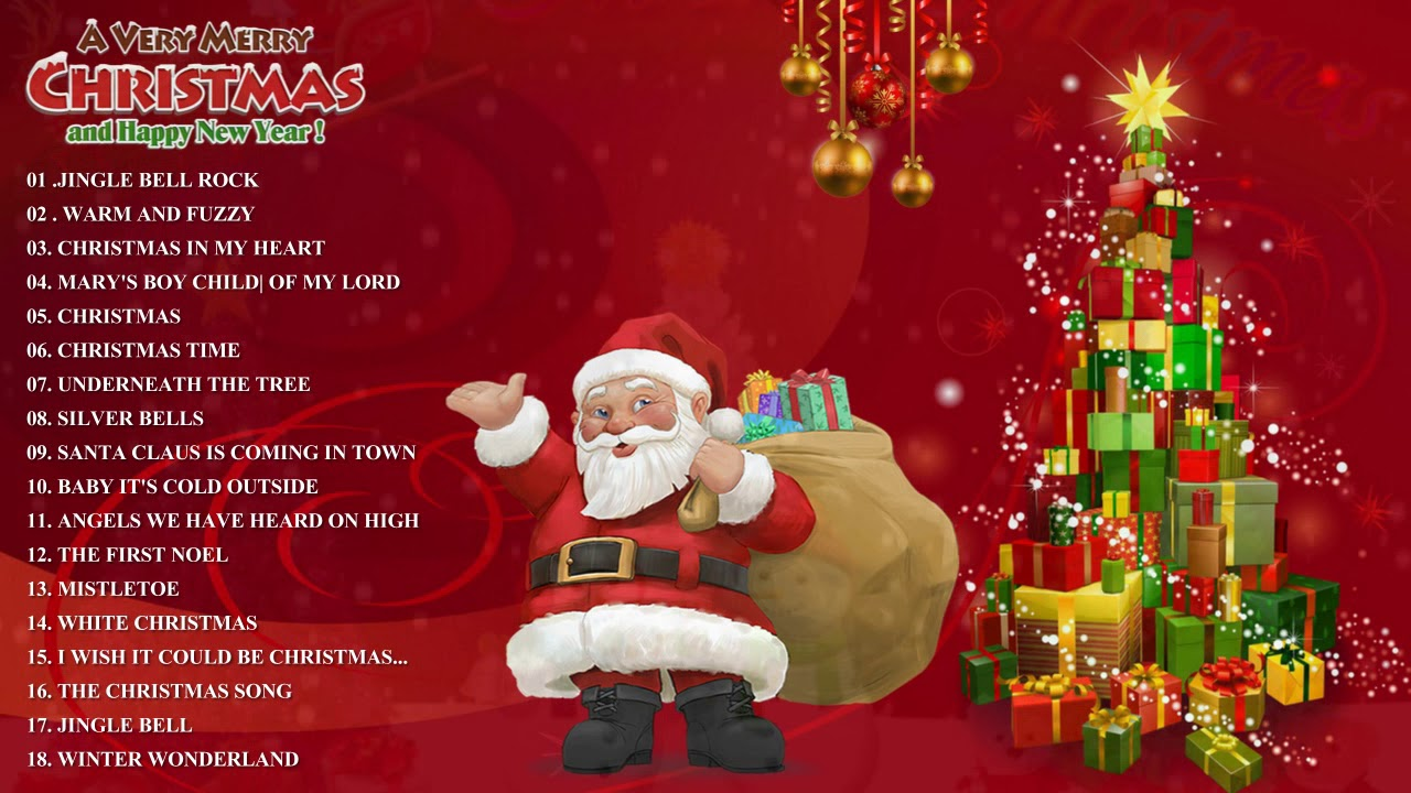Top 50 Merry Christmas Songs 2018 - Christmas Songs Collection And ...