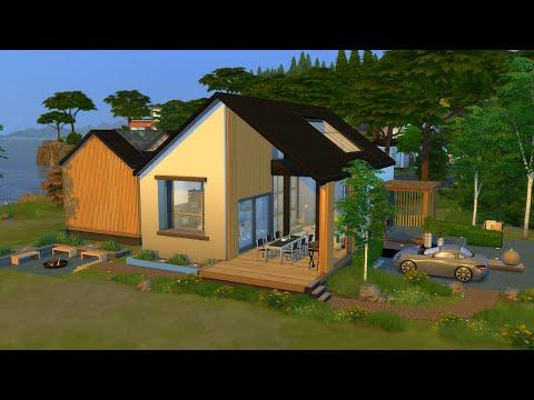 scandinavian-house-🌳-sims-4-speed-build-stop-motion-(no-cc)