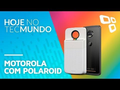 Moto Mod Polaroid, Raspberry Pi 3 no Brasil, OnePlus 5T e mais - Hoje no TecMundo