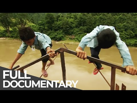 Most Dangerous Ways To School | NEPAL | Free Documentary