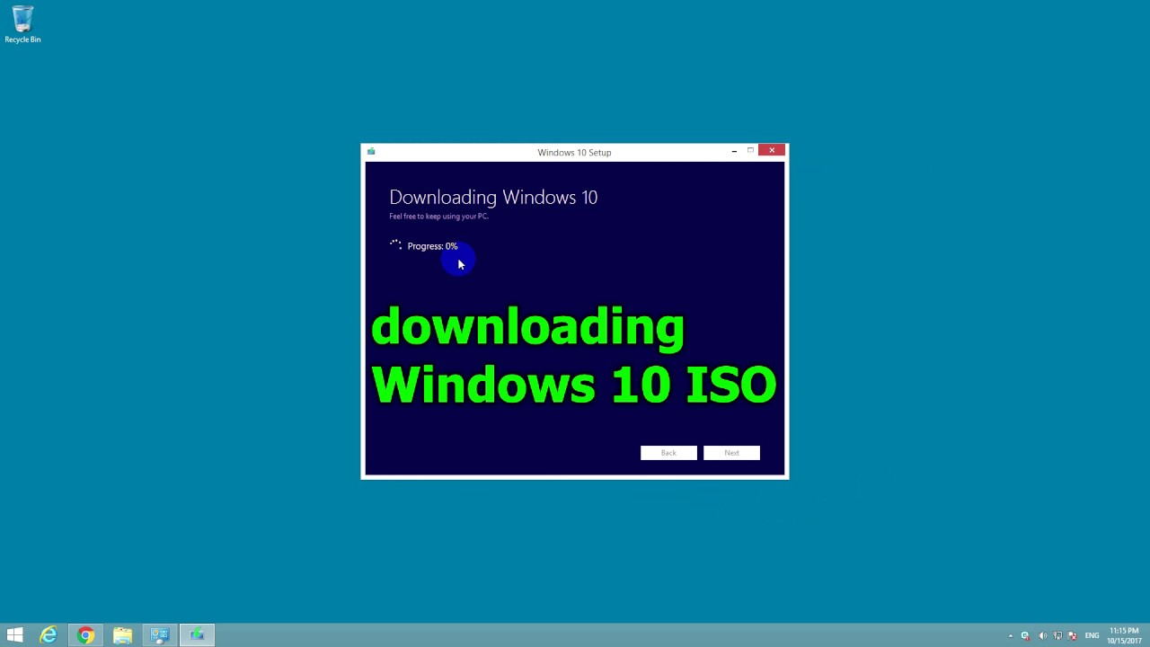How to Install Windows 10 Without Restarting the current OS