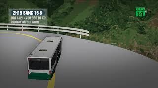VTC14 | Xe khách bị nạn trên đèo Lò Xo không có tín hiệu của thiết bị giám sát hành trình