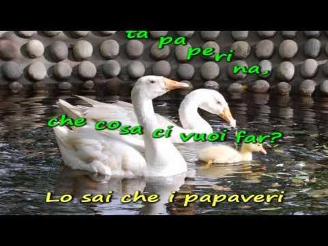 Sing-along karaoke - Papaveri e papere - Nilla Pizzi
