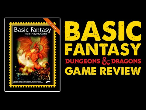 Basic Fantasy RPG: OSR Core Rulebook Review