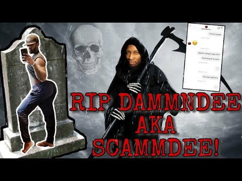 MUST WATCH 100% PROOF DAMMNDEE IS A SCAMMER