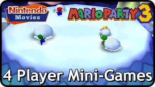 Mario Party 3 - 4 Player Mini-Games