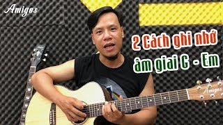 Ghi nhớ tất cả các nốt của âm giai G - Em trên cần đàn guitar nhanh chóng| Guitar4Freedom