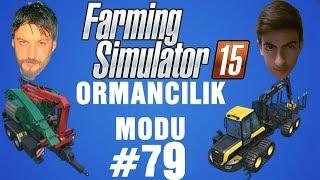 Farming Simulator 15 Türkçe Multiplayer | Talaş Banyosu | Bölüm 79