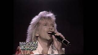Magnum - Midnight (You Won't Be Sleeping) (Official Music Video) UNBLOCKED