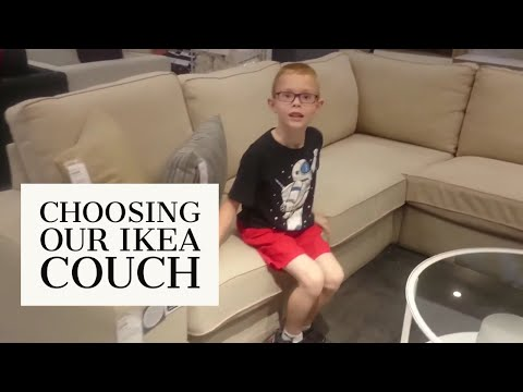 IKEA Couch Shopping | Kivik