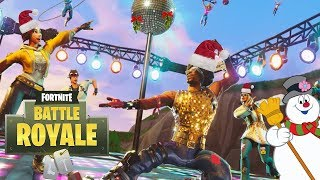Fortnite Disco Domination Gameplay Review Festive Christmas Xbox One X