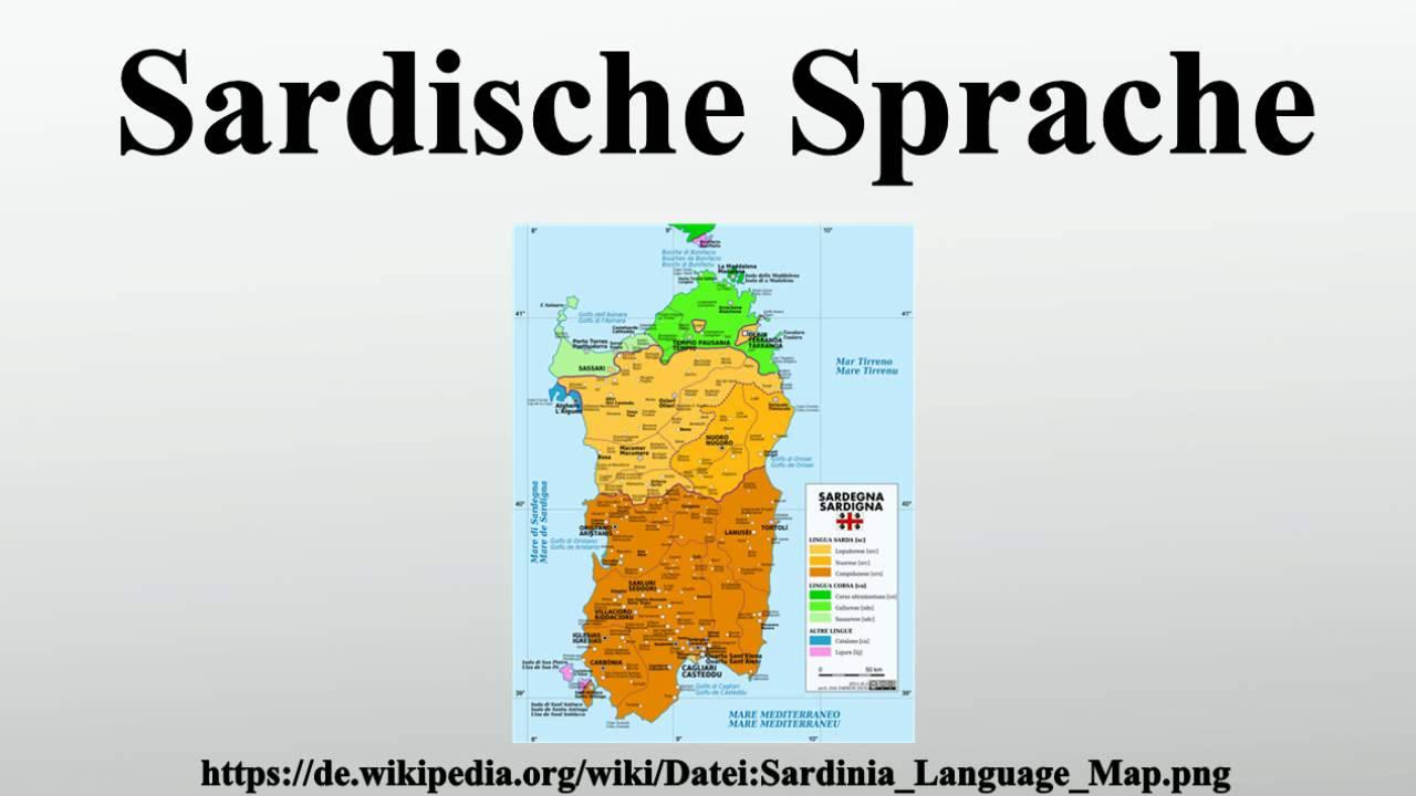 Sardische Sprache
