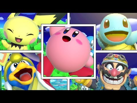All Character's Special Flag Animations In Super Smash Bros Ultimate thumbnail