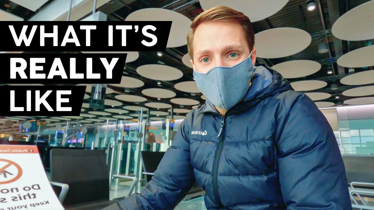 Flying During The Pandemic | UK to Spain