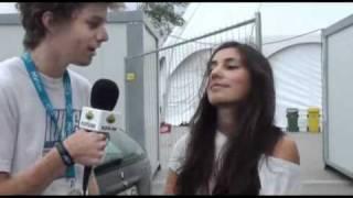 Entrevista a Areej elenzi no Festival Mar_s Vivas 2011.