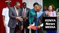 Uhuru Kenyatta VISITS Mama Care Rehab in Kiambu and AWARDED Certificates!!!