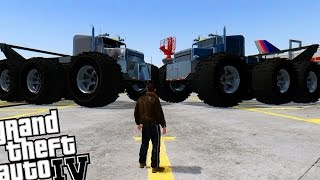 GTA 4 - Worlds Biggest MONSTER TRUCK! (GIANT MONSTER TRUCK)
