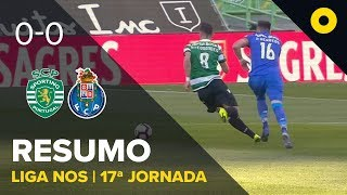 Sporting 0-0 FC Porto - Resumo | SPORT TV