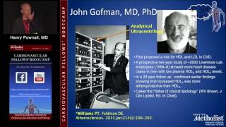 Atherosclerosis and Prevention (Henry Pownall, MD) Saturday,, August 20, 2016