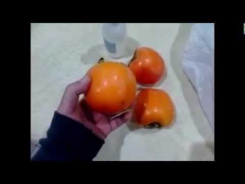 Como madurar kaki persimmon