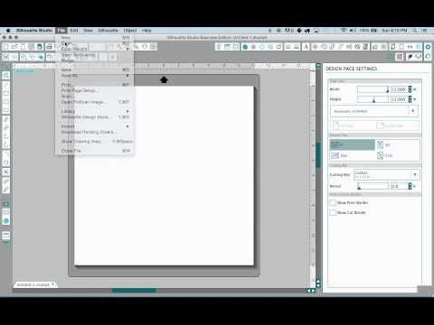 Importing SVG Files With Silhouette Studio Designer Edition