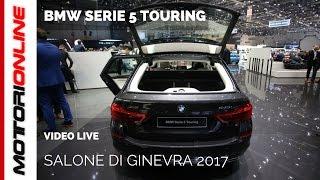 BMW Serie 5 Touring | Salone di Ginevra 2017