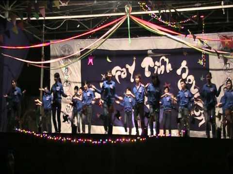 Đại học Nông Nghiệp HN- Nhảy dân vũ Rasa sayang TNTN Khoa Thú Y vs CNNTTS